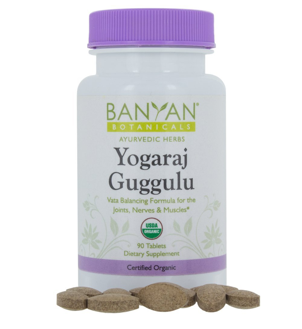 Banyan Botanicals Yogaraj Guggulu - USDA Organic - 90 tablets - Ayurvedic Herbs for Pain in the Muscles, Nerves & Joints* by Banyan Botanicals