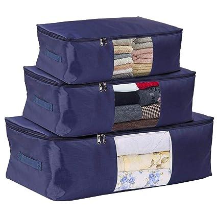 Amazoncom Covod Comforter Zipper Storage Bags Medium Large