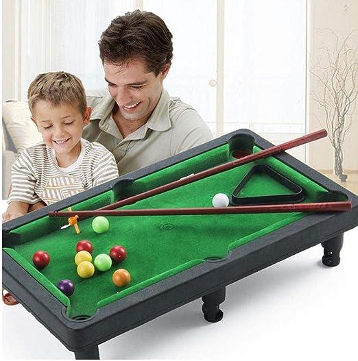 Compra Aisoway Mini Billar Snooker Juegos de Mesa Juego de la Fiesta en casa Gamestoys para Niños en Amazon.es