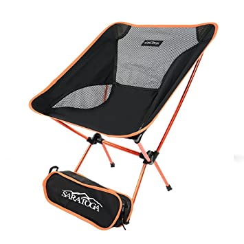 Amazon.com: Saratoga Ultralight Backpacking Sillas de ...