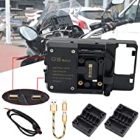 Suporte de navegação USB para celular USB suporte para motocicleta para BMW R1200GS F800GS ADV F700GS R1250GS CRF 1000L…