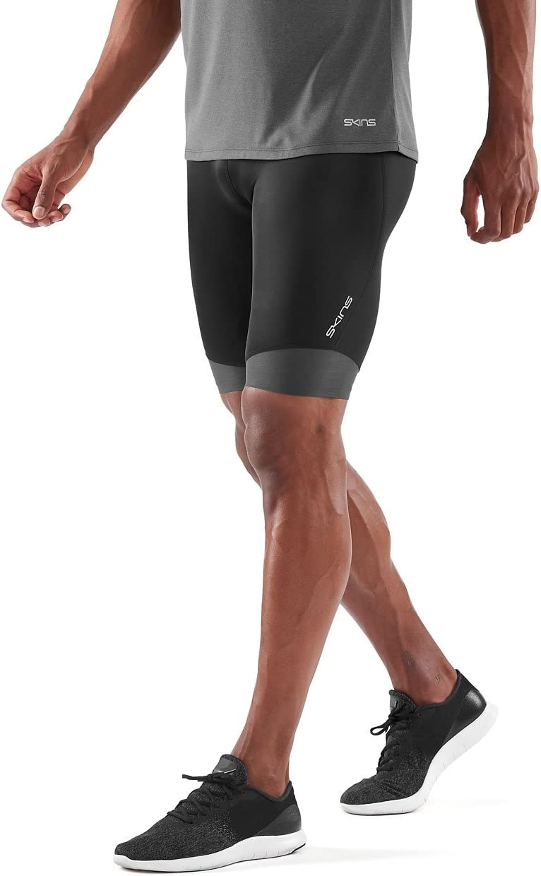 FR M SKINS DNAmic Mens Long 1//2 Tights Black M Half Homme Taille Fabricant : M