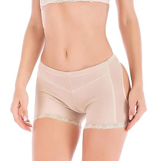 20ace2c67f8 FOCUSSEXY Women s Butt Lifter Booty Shapewear Belt Shaper Tummy Control  Pantie Beige