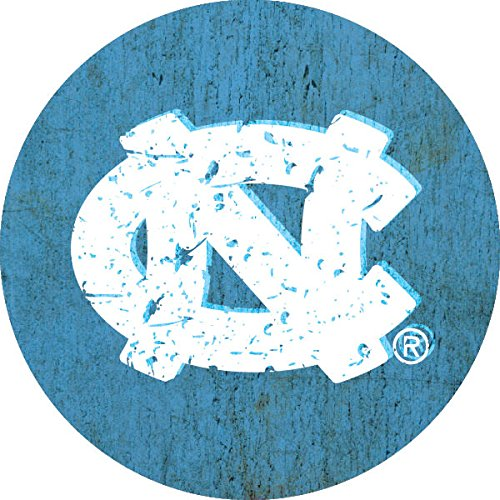 R and R Imports, Inc North Carolina TarヒールUNC NCAA Collegiateアンティーク調木目トレンディ4