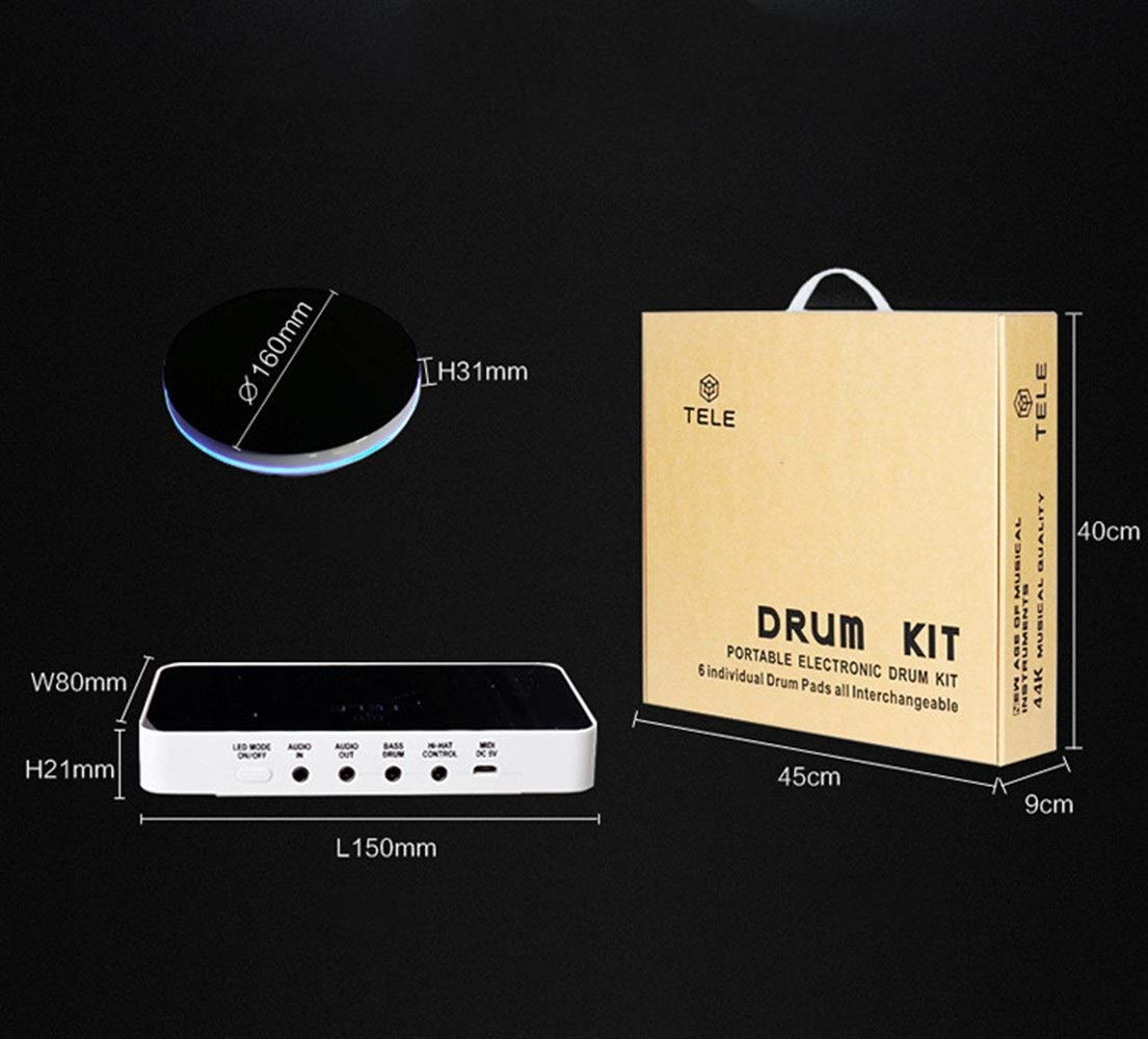 YOZOOE Batería electrónica: batería electrónica Dividida ...