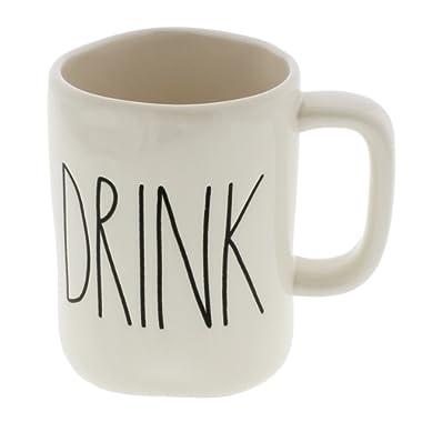 Rae Dunn by Magenta DRINK Ceramic LL Coffee Mug