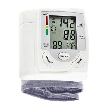 Tensiometro De Brazo Digital,Con 90 Capacidad De Memoria, Frecuencia Cardíaca Y Detector De