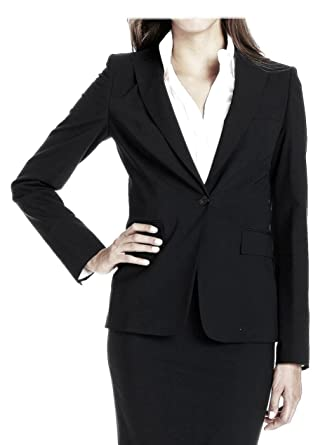 879e1c916 Hugo Boss Women's Wool Business Juicy Blazer Jacket Size 12 DARK NAVY at  Amazon Women's Clothing store: