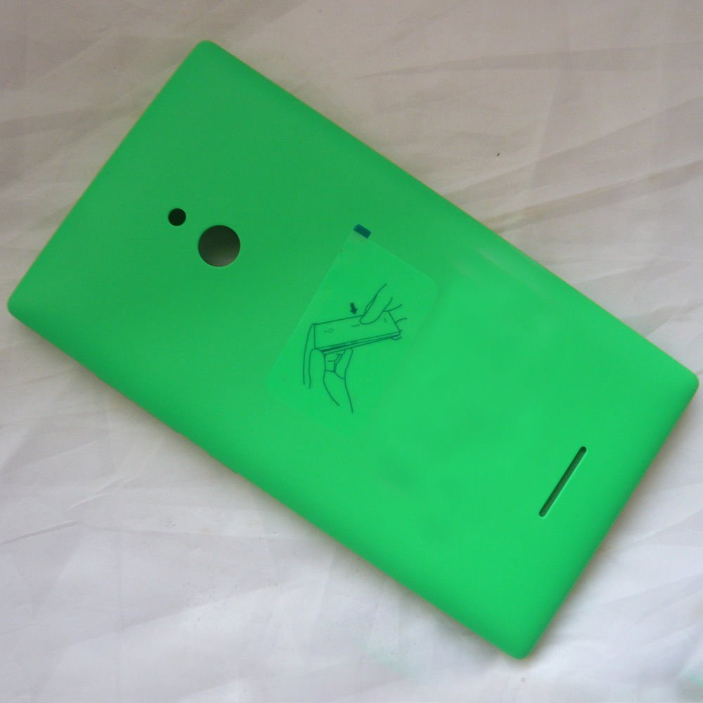 Eshop24x7 Green Replacement Battery Door Panel Housing Back Cover Nokia Xl Case For Lumia Dual Sim Rm 1030 1042 Buy