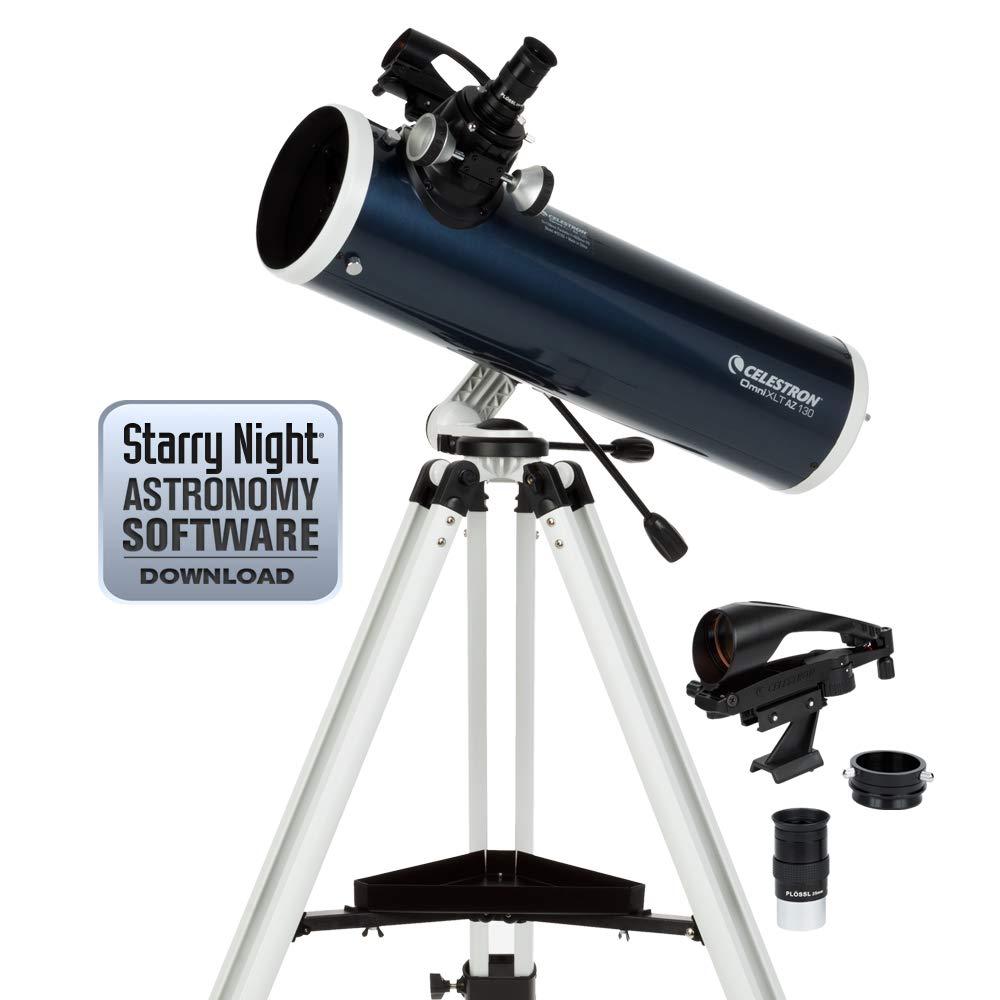 Celestron 22152 Omni XLT AZ 130mm Newtonian (Blue) by Celestron