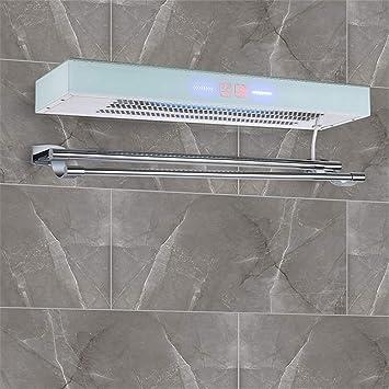 LIBINA - Calientatoallas Control de Temperatura Inteligente Baño de Secado Esterilización Acero Inoxidable Barra de Toalla eléctrica Calentador Inteligente ...