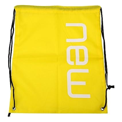 Cordón mochila impermeable mochila plegable bolsa con cuerda para deportes  casa natación gimnasio almacenamiento 3007fcd410ff9