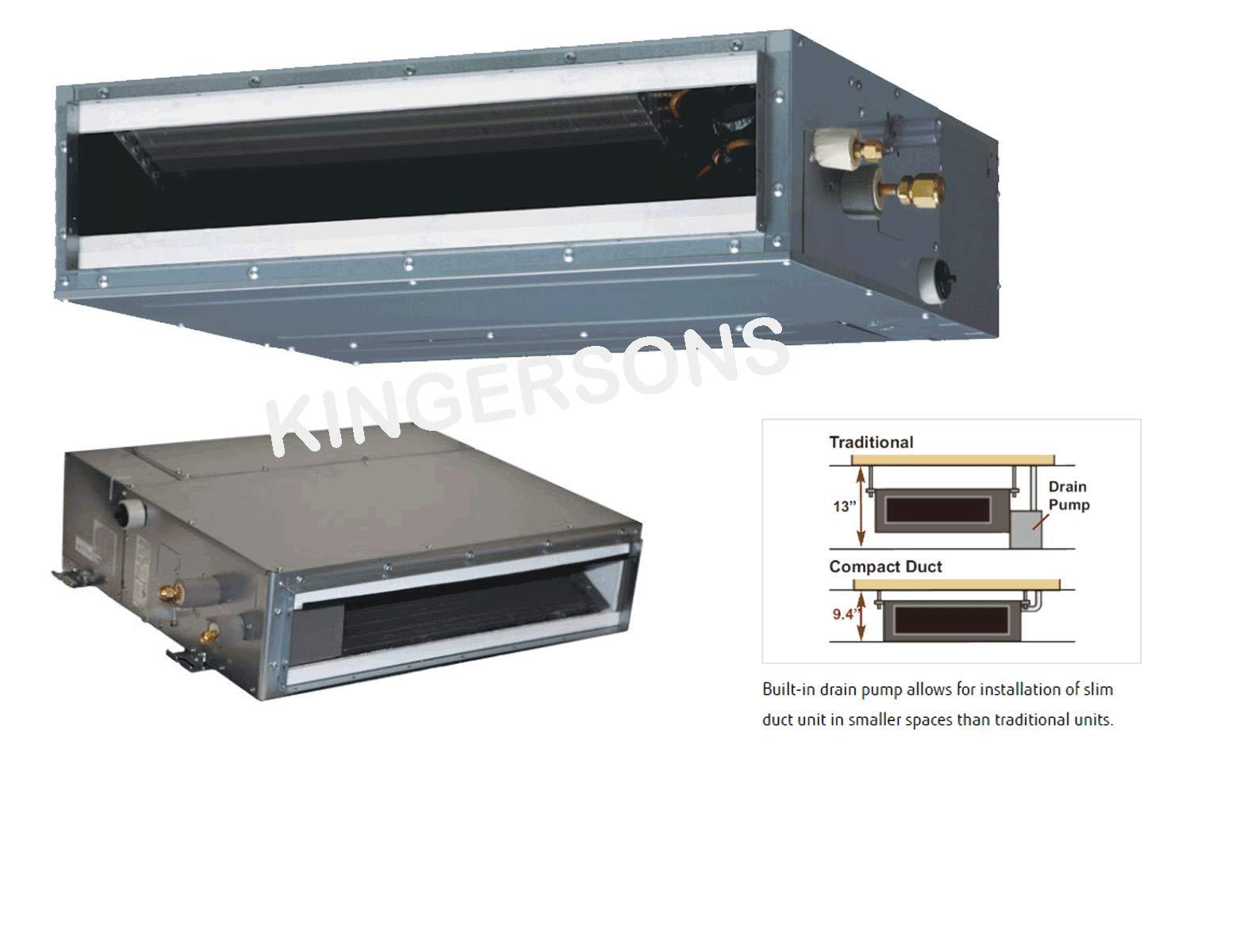 Fujitsu 3 4 Ton 9000 Btu Cooling Heating Ductless Slim