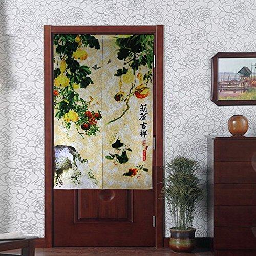Traditional Vintage Fabric Door Curtain Japanese Noren Curtain Bedroom Curtain Doorway Curtain by LifEast