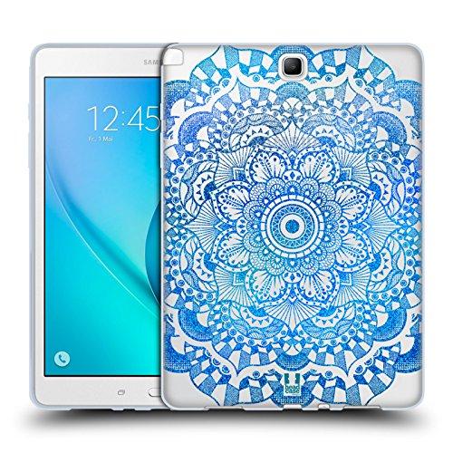 Head Case Designs Daisy Glitter Mandala Prints Soft Gel Case for Samsung Galaxy Tab A 9.7