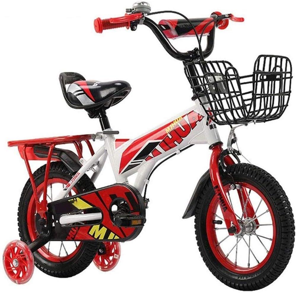 Bicicleta de niños Bicicletas niños Entrenamiento para la Muchacha del Muchacho, niño Bicicletas para 2-9 años, 12