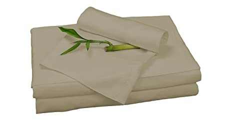 Bed Voyage Bamboo Rayon Sheet Set   Queen   Champagne by Bed Voyage