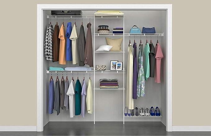 Amazon.com: ClosetMaid 1608 Kit organizador de armario con ...
