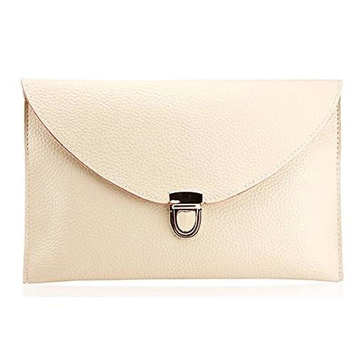 281b36296916 Amaze Fashion Women Handbag Shoulder Bags Envelope Clutch Crossbody Satchel Tote  Purse Leather Lady Bag (