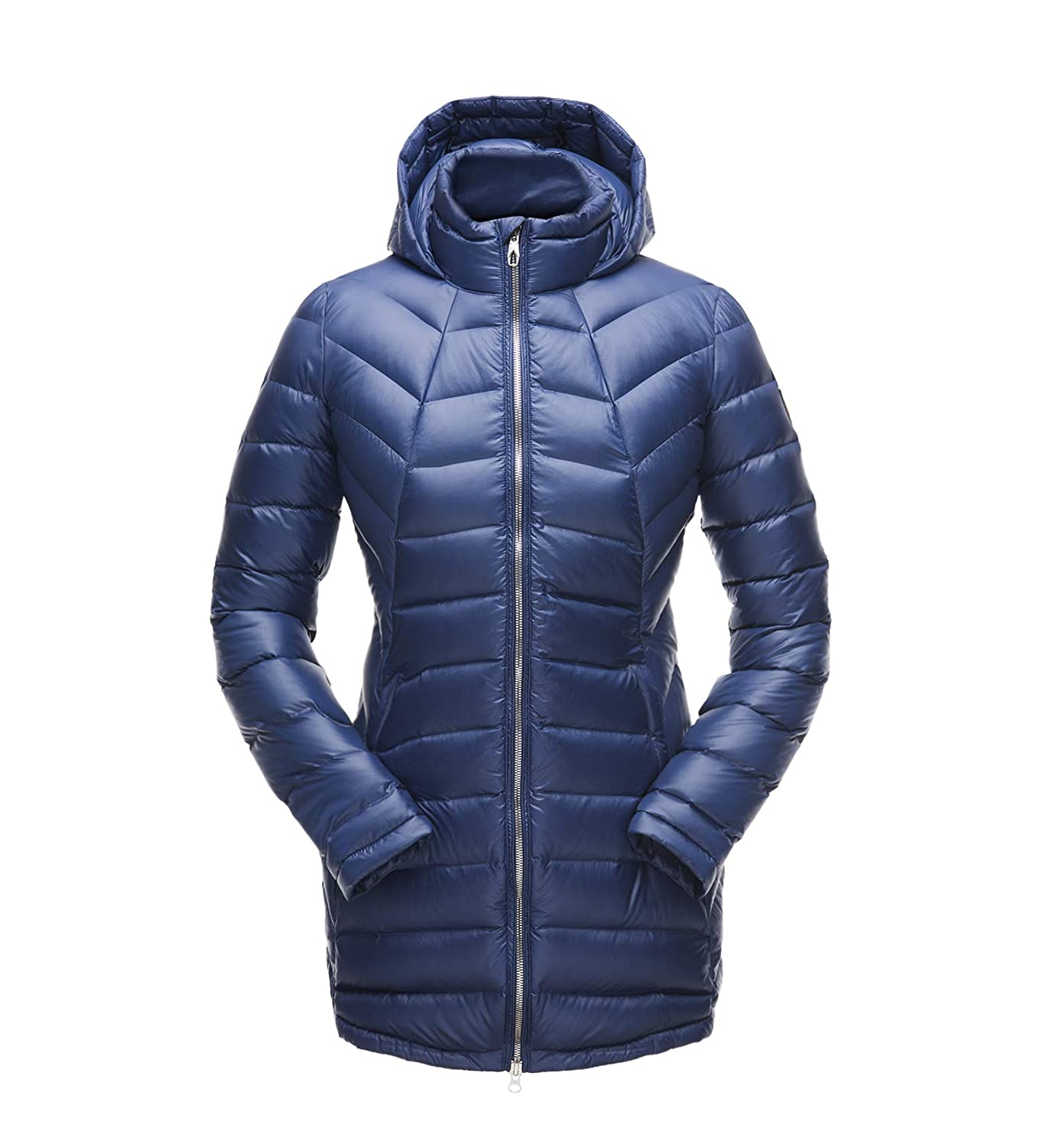 bluee Depths bluee Depths Spyder Women's Syrround Long Down Jacket
