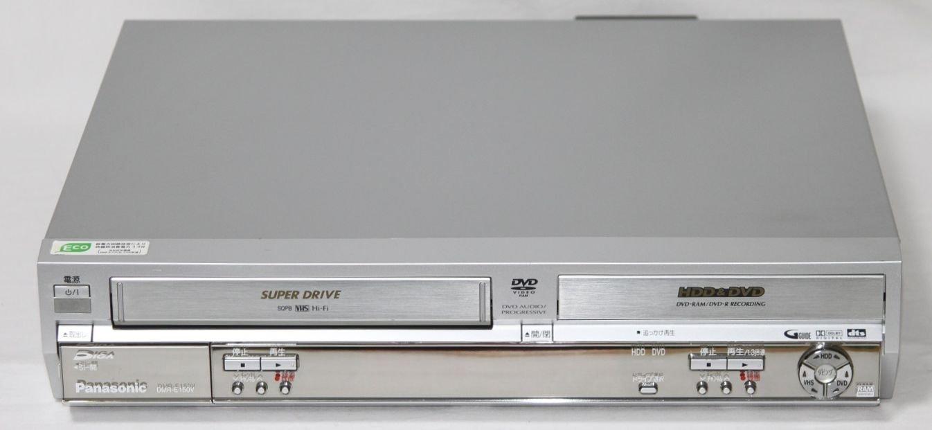 パナソニック 80GB DVDレコーダー VHSビデオ一体型 DIGA DMR-E150V-S B0001W8EO6