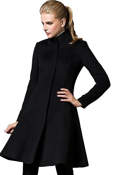 best loved ef4c0 c063c La Vogue-Cappotto Slim Fit da Donna Cappotto Lungo: Amazon ...