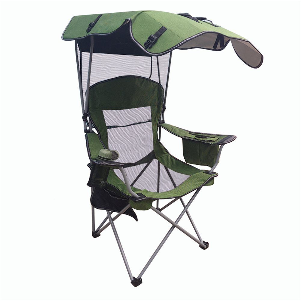 Amazon.com : Outdoor Folding Chair, Fishing Chair, With ...