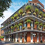 New Orleans 2021 12 x 12 Inch Monthly Square Wall Calendar, USA United States of America Louisiana Southeast City
