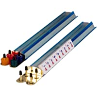 Light Blue Mahjong Mah Jongg Game Racks 18''