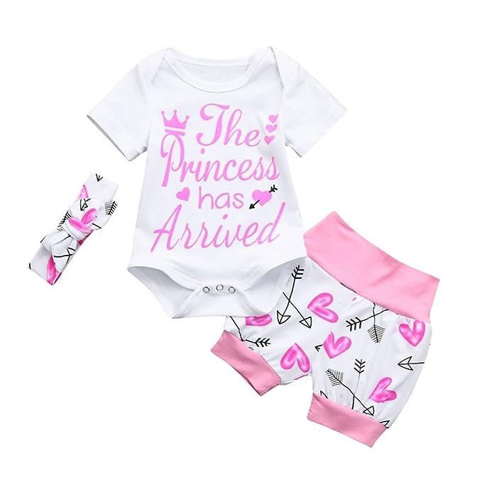 POLP Bebé Monos ♧♧♧ Recién Nacido Bebé Unisex Carta Impresión Camiseta Monos Unisex Conjuntos