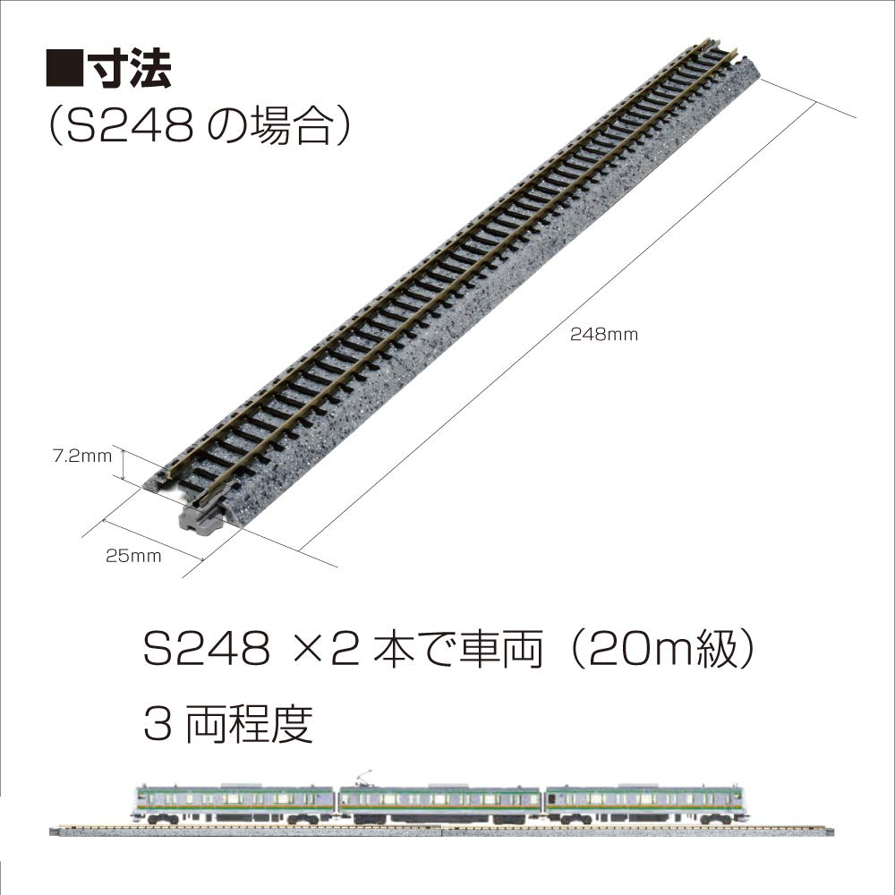 Kato KAT20032 N 64mm 2-1//2 Straight Uncoupler