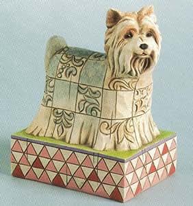 Amazon.com: Jim Shore YORKSHIRE TERRIER YORKIE Dog 4009745