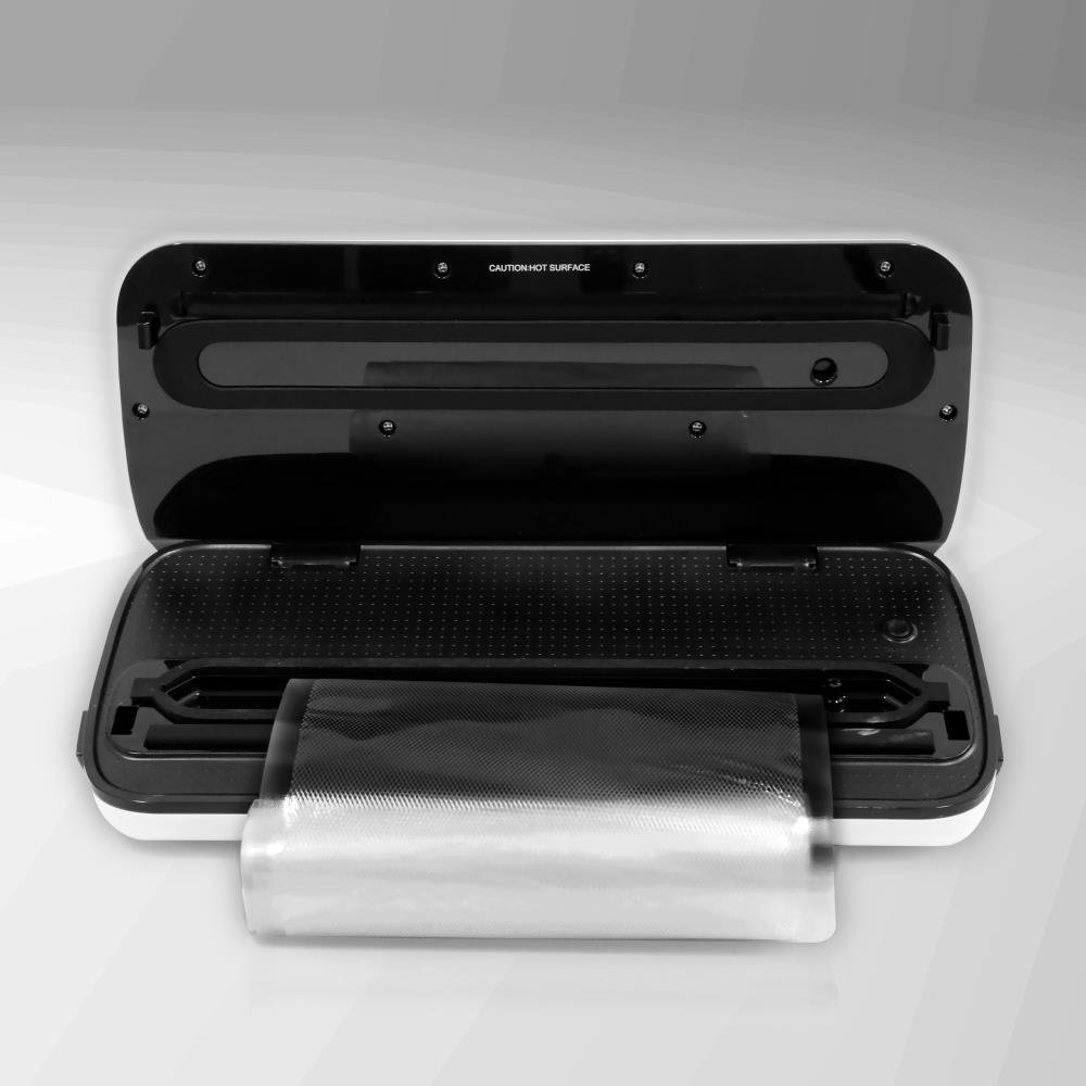 Vacuum Sealer By NutriChef | Automatic Vacuum Air Sealing System For Food Preservation w/ Starter Kit | Compact Design | Lab Tested | Dry & Moist Food Modes | Led Indicator Lights (Silver) by NutriChef (Image #3)