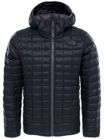1c6da6e12bb8e low price the north face thermoball boys outdoor hooded jacket available in  tnf black x 028b6