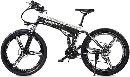 MERRYHE Bicicletas Eléctricas Plegables 240W 48V10AH Bicicleta De ...