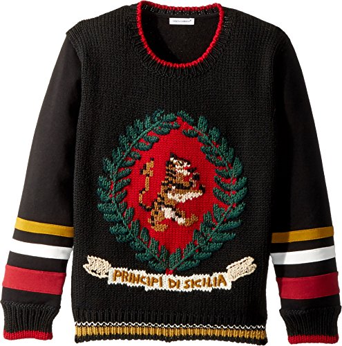 Dolce & Gabbana Kids Boy's Sicily Sweatshirt (Big Kids) Multicolor - Sicily Gabbana And Dolce