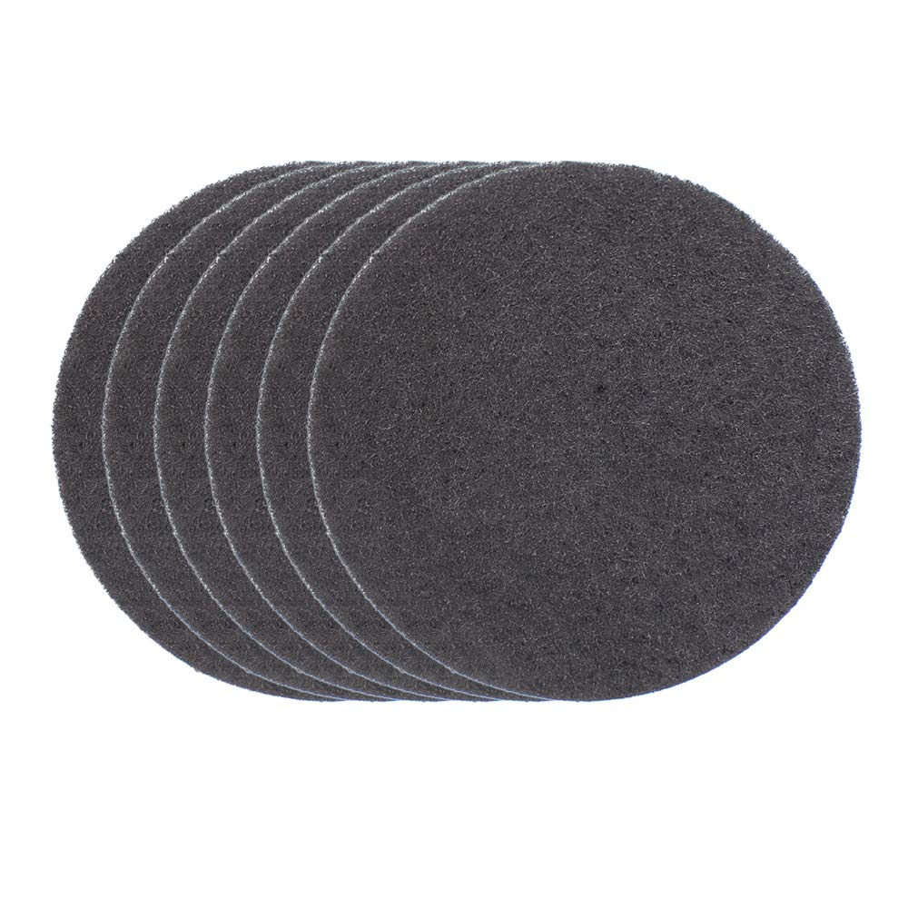 6 Pack Thickening Compost Bin Filters Activated Carbon Filters for Kitchen Compost Bin Filters Replacement, 10 mm Thickness, 6.25 inch Md trade