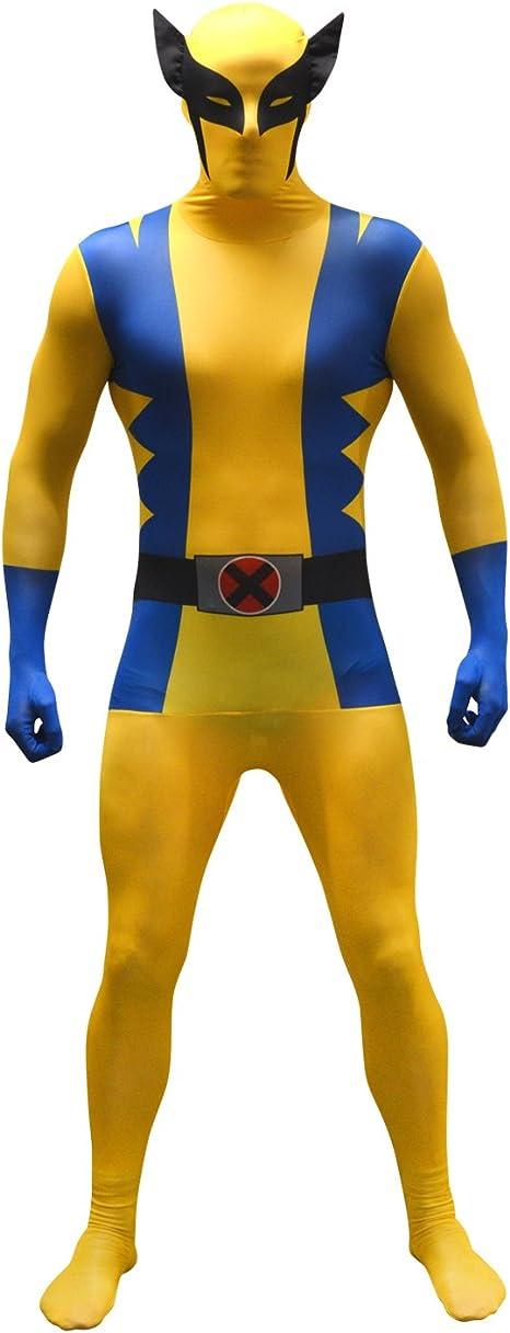 Morphsuits - Disfraz Wolverine, Multicolor (basic), talla L (161cm ...