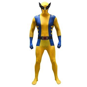 Morphsuits - Disfraz Wolverine, Multicolor (basic), talla L (161cm-177cm)