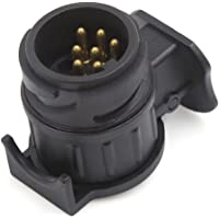 uxcell a16081900ux0550 13 7 Pin Euro Trailer Car Socket Electrics Converter Caravan Adapter