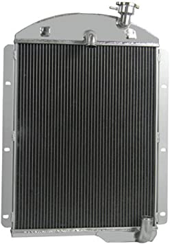 41-46 Chevy Truck L6 3-Row Aluminum Performance Cooling Radiator