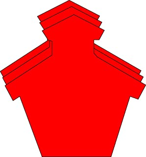 """product image for Schoolhouse Large Single Color Creative Cut-Outs, 5.5"""" x 5.5"""", 31 Schoolhouse Cutouts to a Package"""