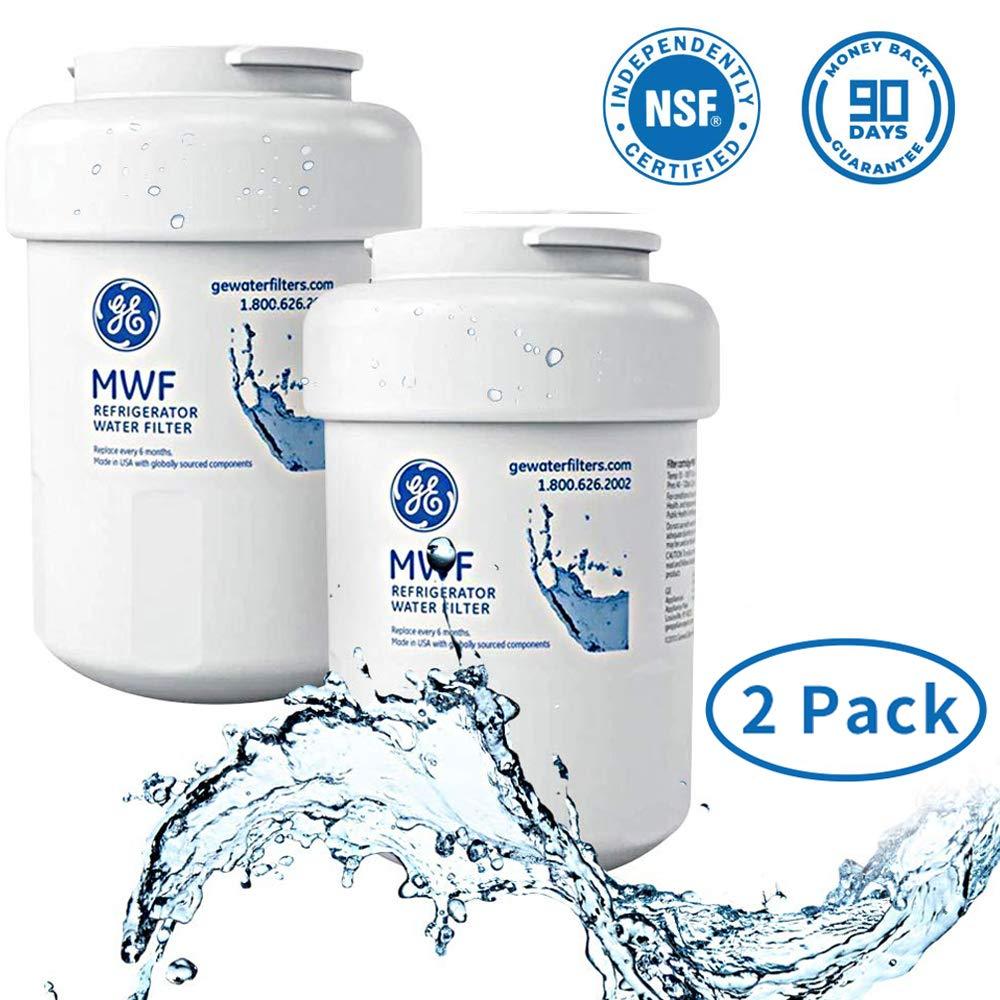 General Electric MWF Refrigerator Water Filter, MWF Water Filter for GE Refrigerator