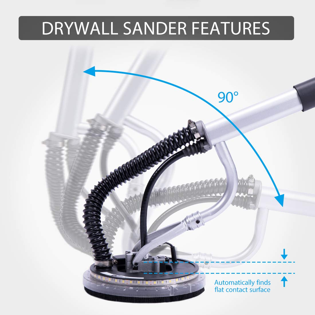 VIVOHOME V710DS Drywall Sanders product image 4