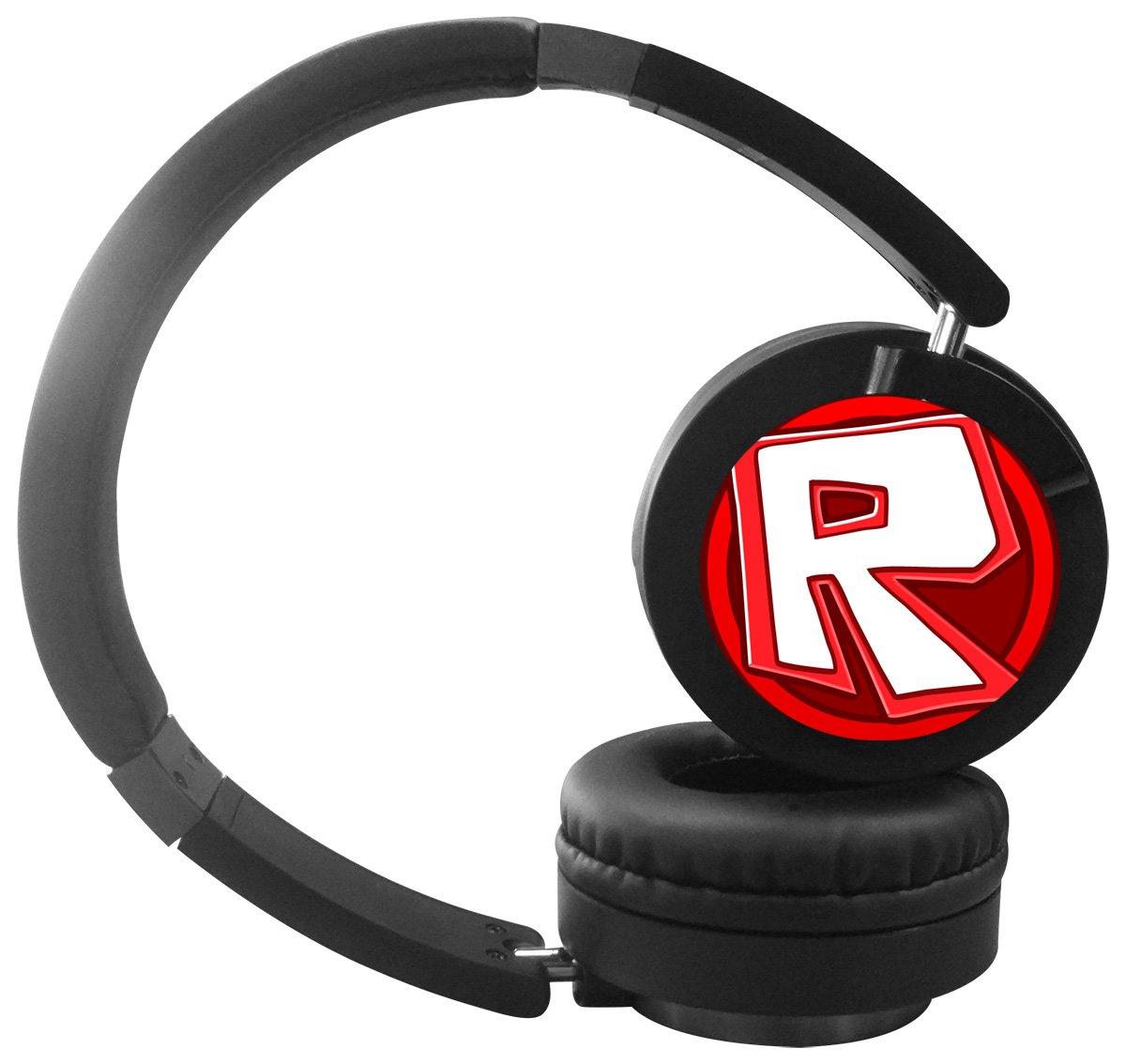 PiHuang-99 Roblox R Logo Bluetooth Headphones Over Ear, Hi