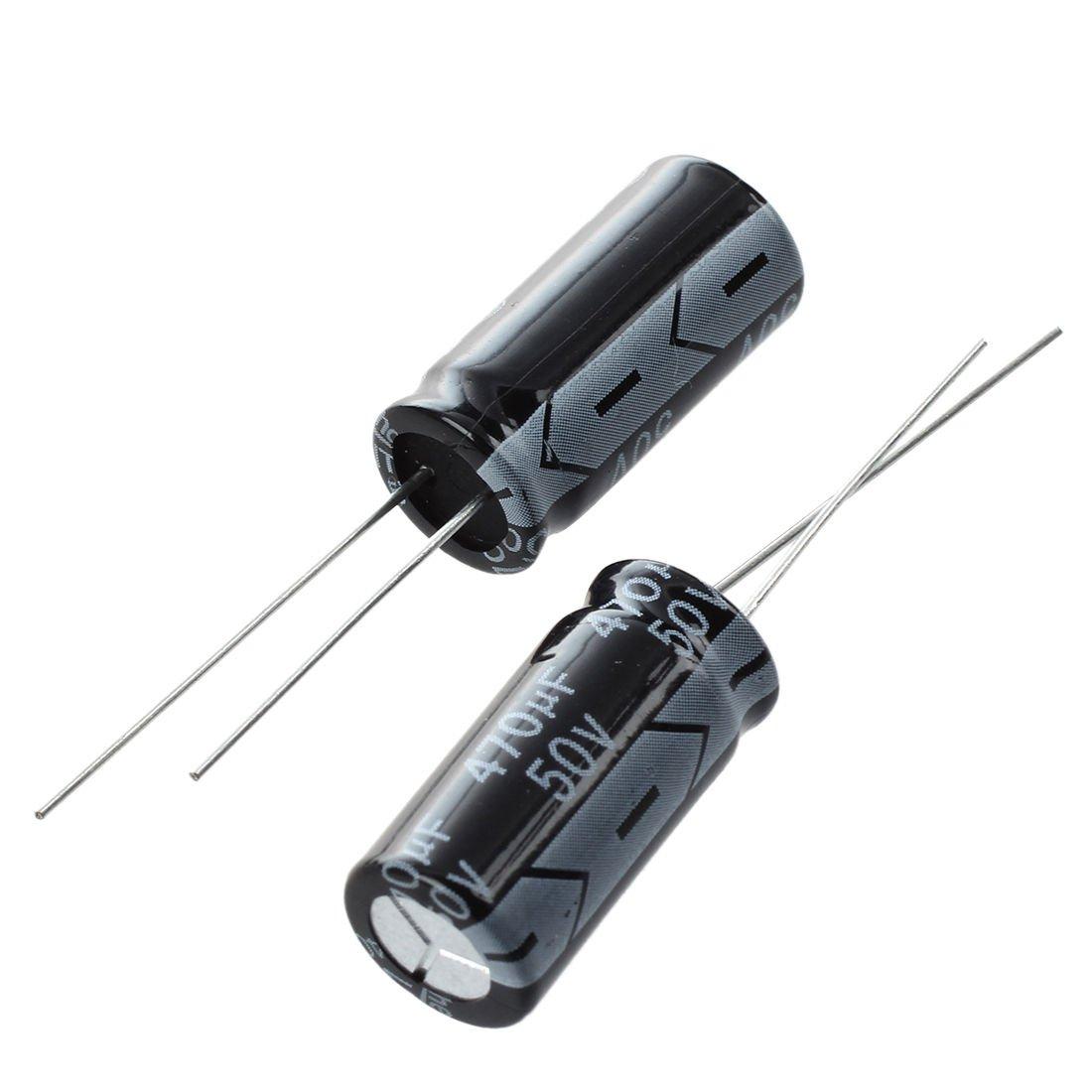 Cikuso R 5 x 470uF 50V 105/°C Radialer Elektrolyt Kondensator 10x20mm
