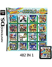 $25 » 482 In 1 NDS Game Pack Card Compilations, Super Combo Multicart DS Game Card for Nintendo DS, NDSL, NDSi, NDSi LL/XL, 3DS, 3DSLL/XL, New 3DS, 2DS, New 2DS