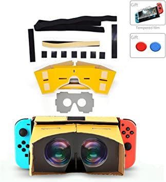 Amazon.es: Generis VR 3D para Nintendo Switch - Gafas 3D LABO NS ...