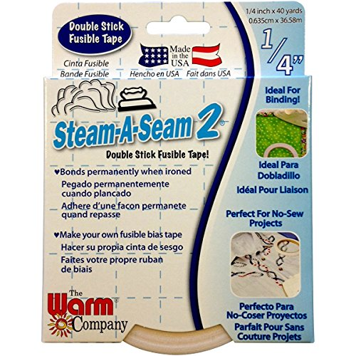 Warm Company Steam-A-Seam 2 Double Stick Fusible Web 1/4