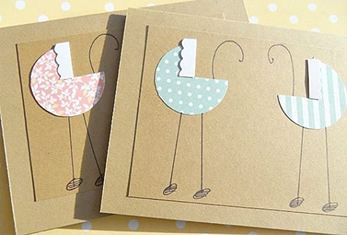 twins baby shower cards - Baby Shower Cards